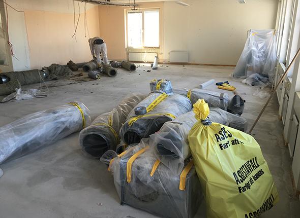 Behöver du hjälp med att sanera asbest?